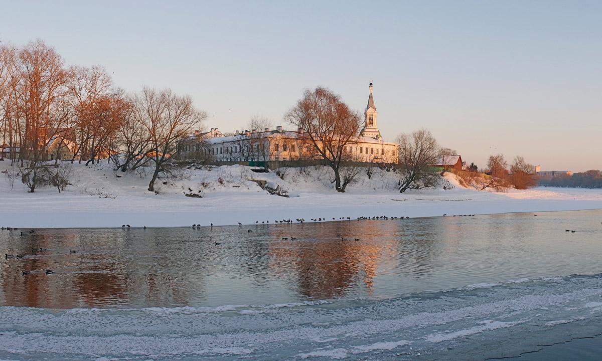 Тверь. Свято-Екатерининский женский монастырь..Февраль 2013.