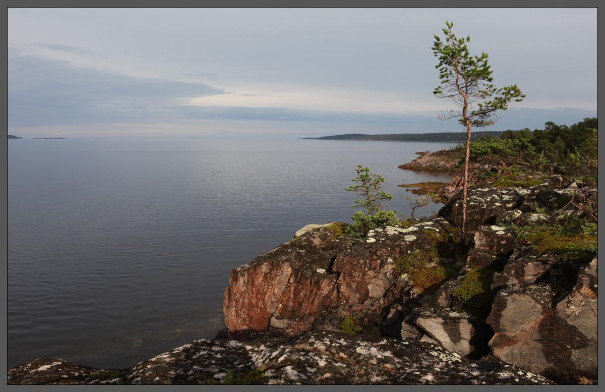 Белое море. Район острова Кереть, что южнее Чупы. 01-08-2012, 19:12.