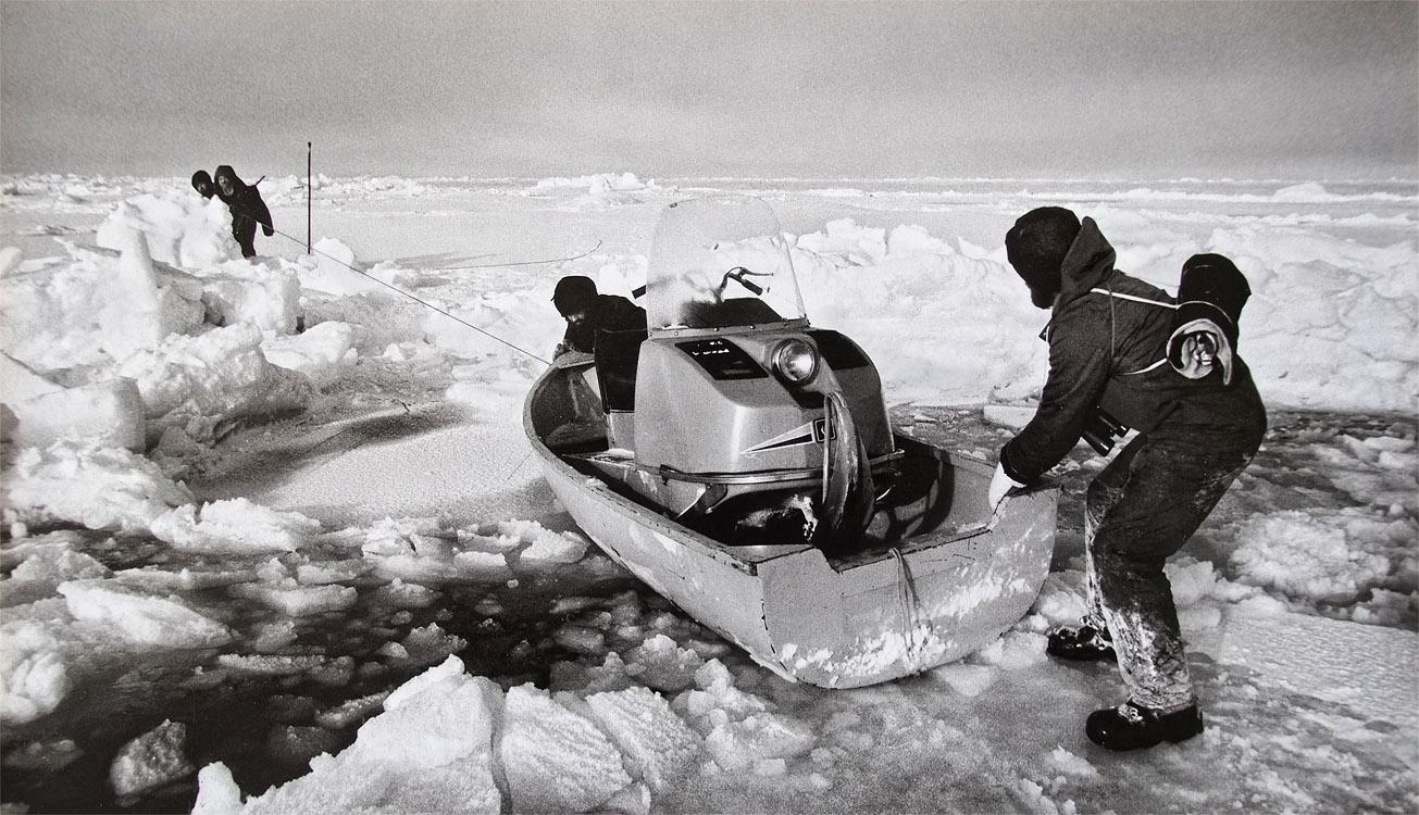 Северный Полюс - 28, 1986 г.До земли 3 километра (вниз)переснятая фотокарточка