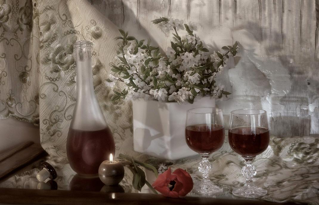 Про тюльпан и красное вино...