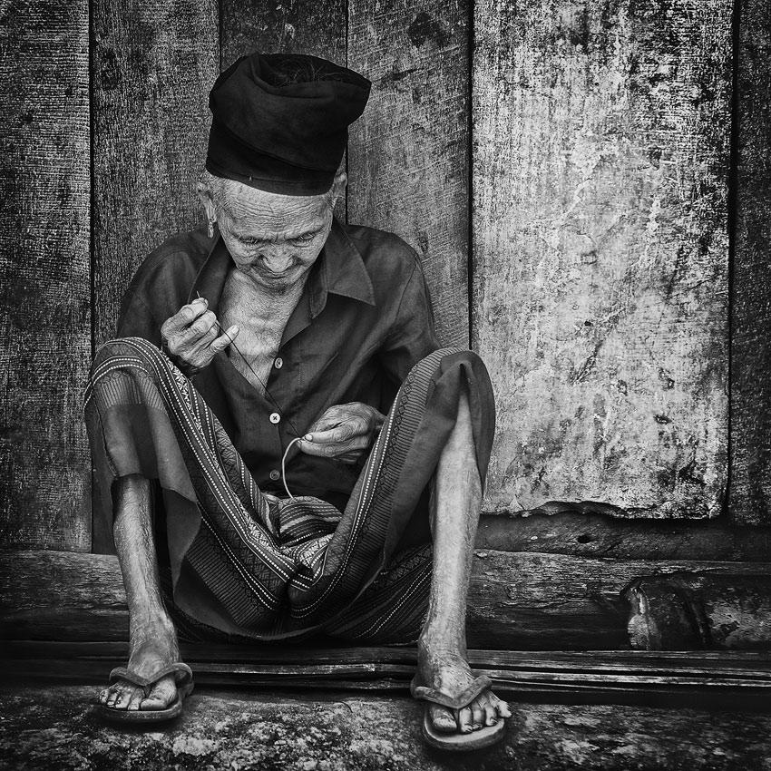 Лаос. В деревне Хмонгов.