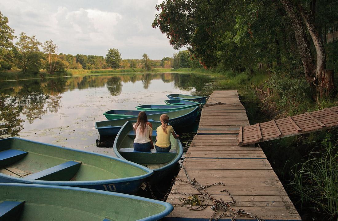 турбаза Спутник, Воронежская область, река Усманка, июль 2013