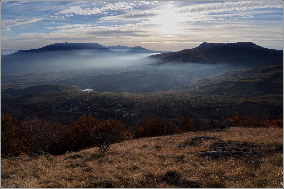 Крым, г.Демерджи, вечер
