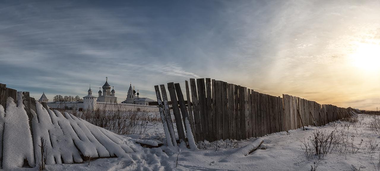 Никитский Монастырь,Переславль-Залесский,Золотое кольцо,панорама