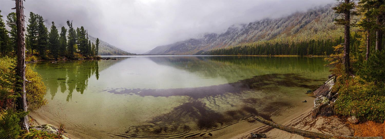 Горный Алтай. Катунский заповедник. Среднее Мультинское озеро