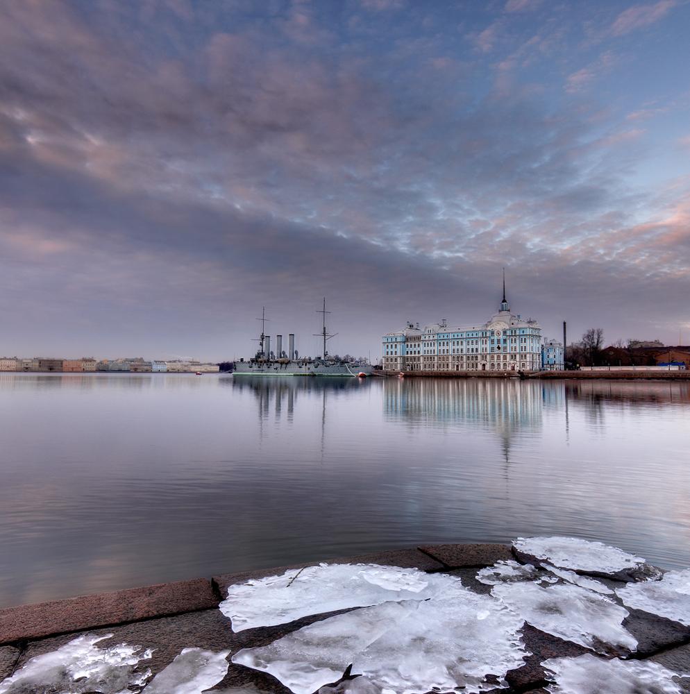 Крейсер Аврора, Нахимовское училище.Петербург.
