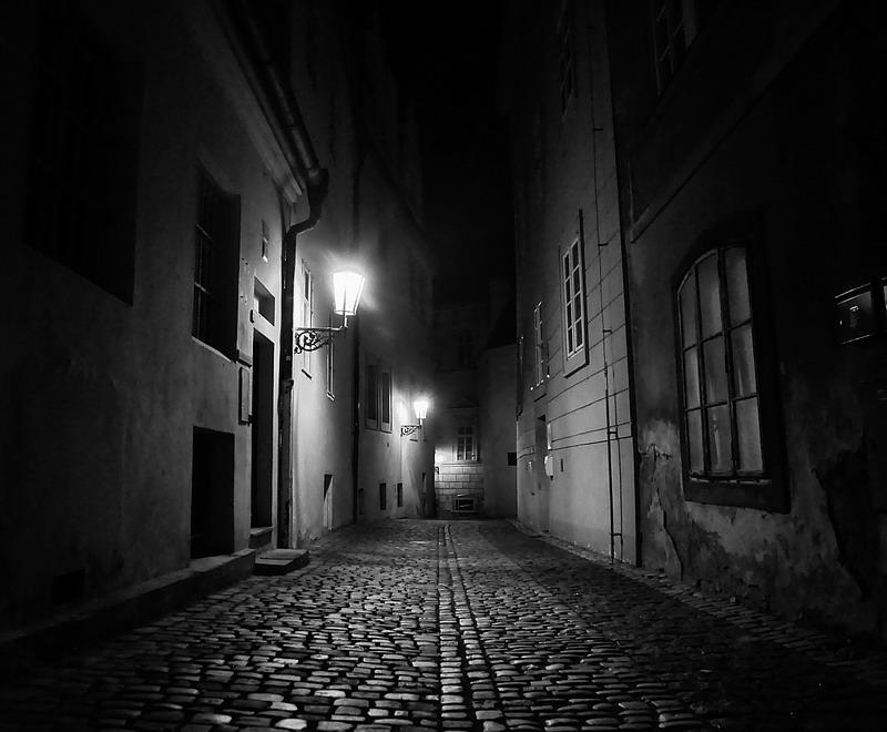 Место фотографирование, улица У золотого фонтана-Мала Страна-Прага 1