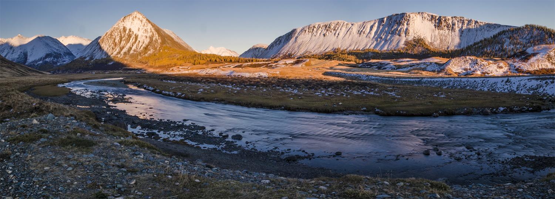 Горный Алтай, Южно-Чуйский перевал.