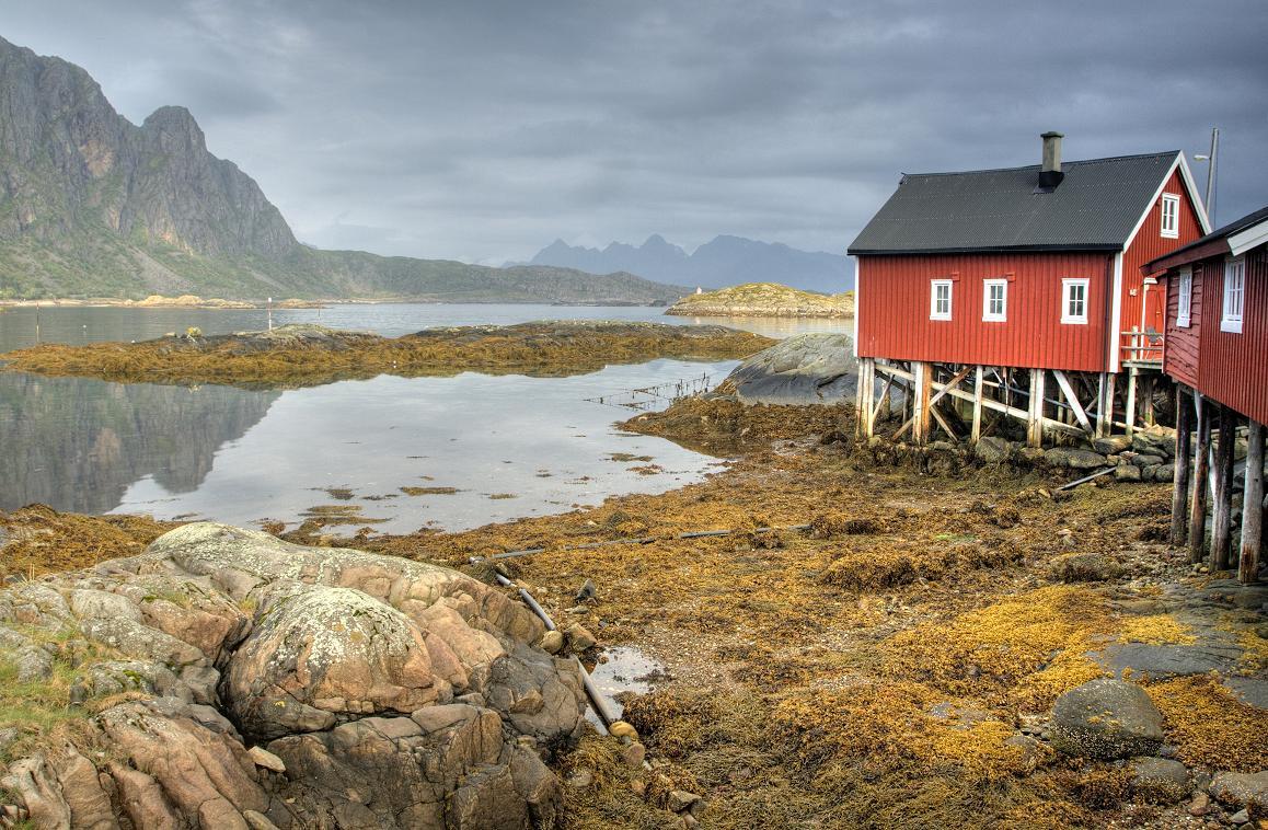Лофотенские острова самые красивые в мире.