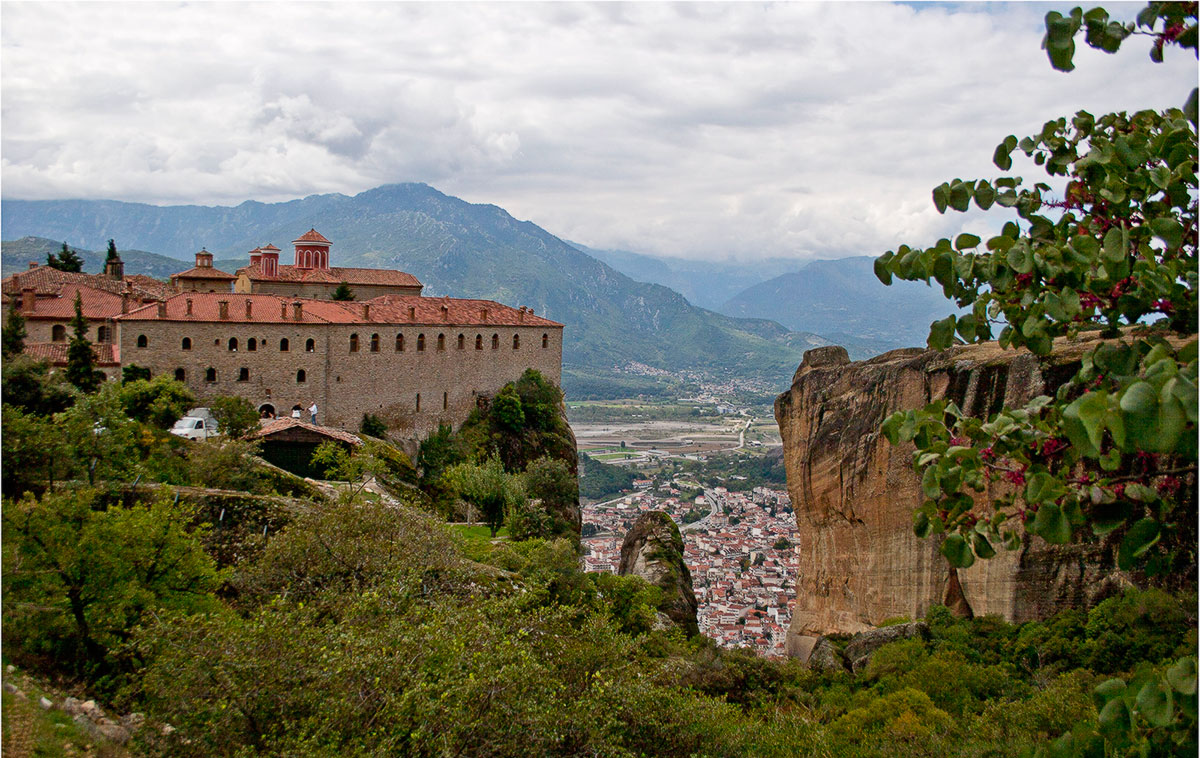 Монастыри, Греция