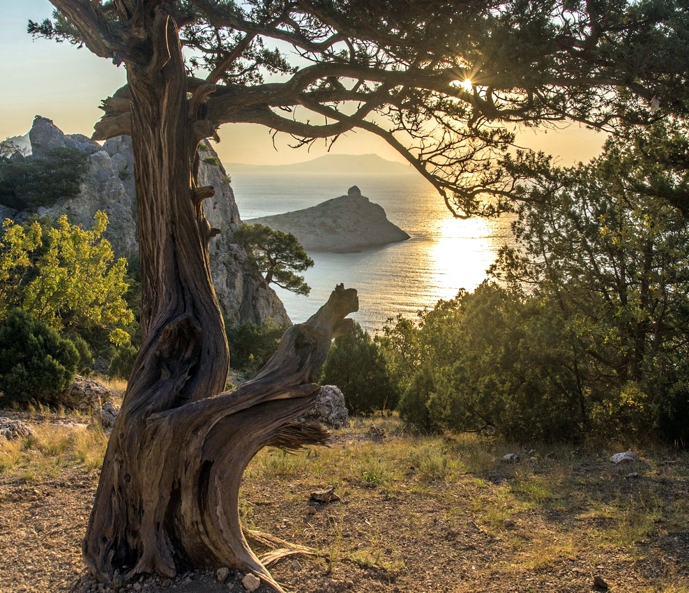 Крым, горы,море