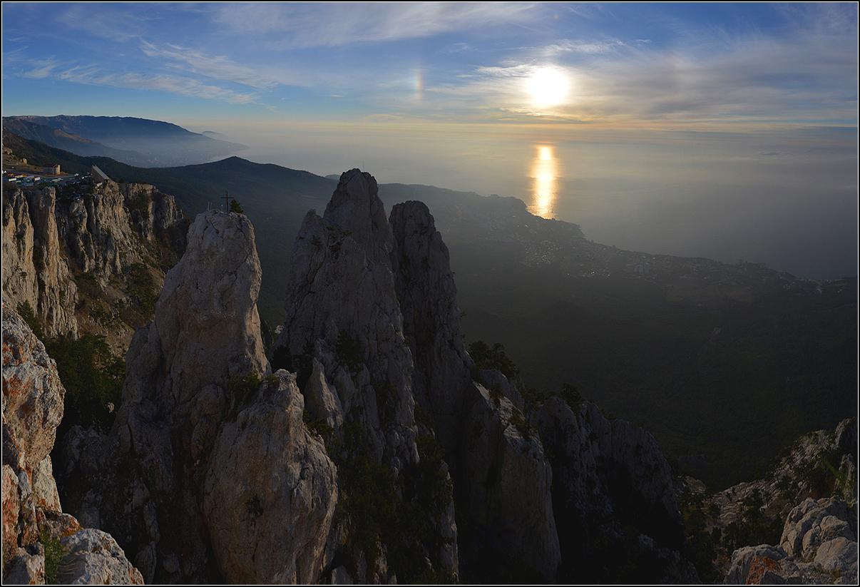 Крым, утро, г.Ай-Петри