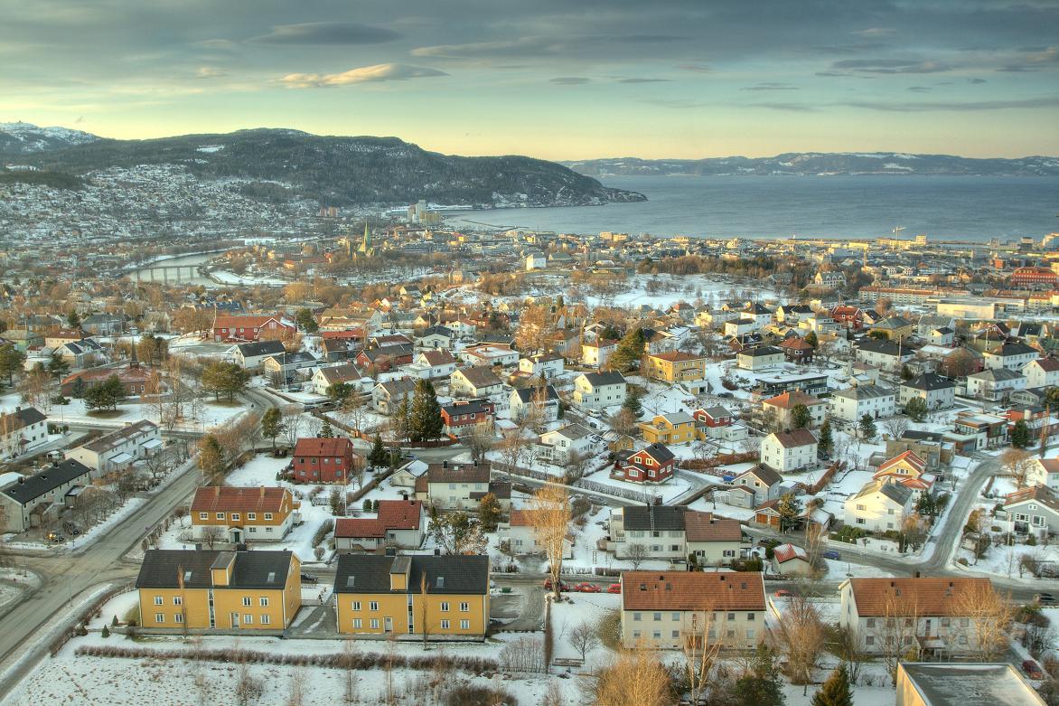 """Tyholttornet i Trondheim. Norge.""  21 januar 2015"