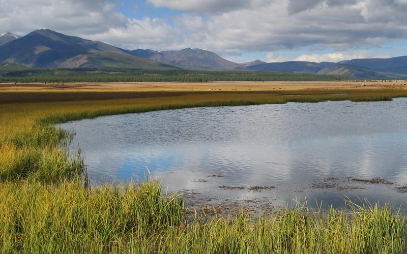 """""""Долго я шел берегом реки,Я шел, судьбу свою кляня.И все надежды были далеки,И, все же, утром к морю вышел я...""""(С) Андрей МакаревичМонголия. Озеро Хубсугул. Сентябрь 2006 г."""
