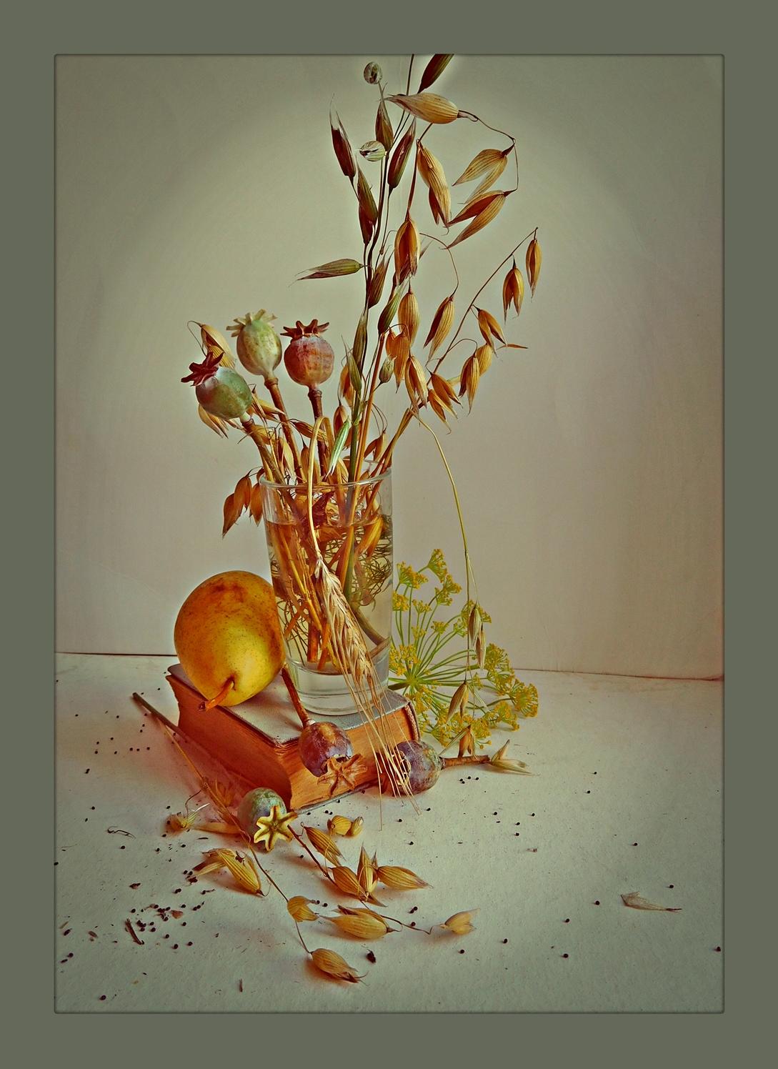 букетик собранный ранней осенью