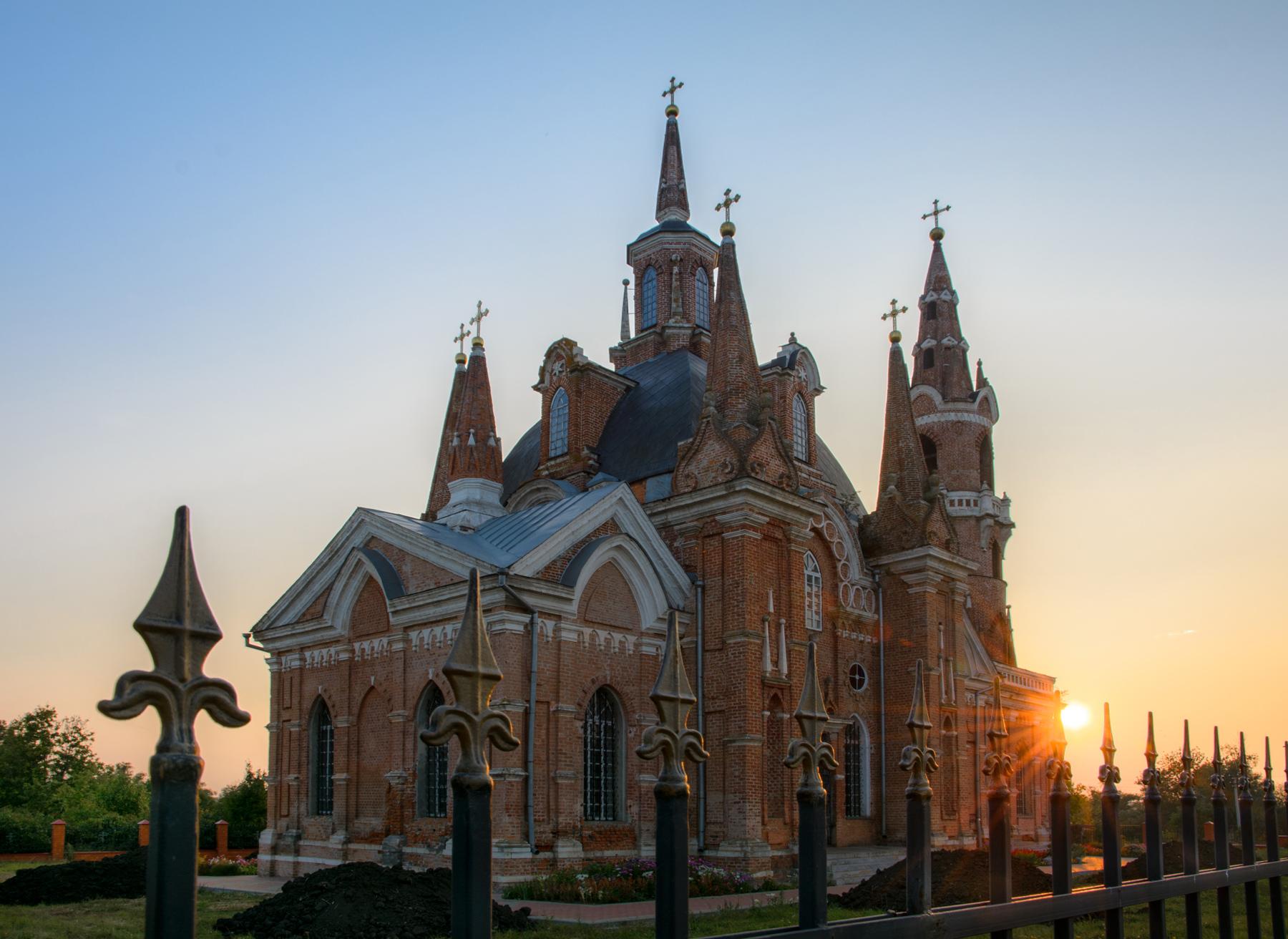 """с. Вешаловка. Церковь иконы Божией Матери """"Знамение"""". Знаменская церковь"""