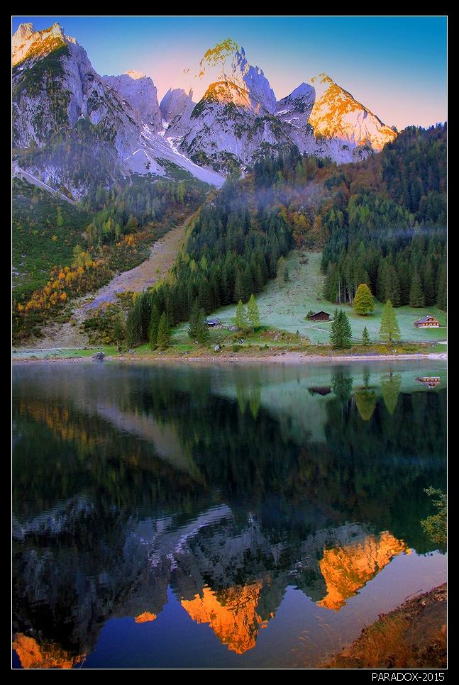 """* * *""""Природа подобна женщине, которая, показывая из-под нарядов то одну часть своего тела, то другую, подает настойчивым поклонникам некоторую надежду узнать ее когда-нибудь всю""""Дени Дидро* * * Озеро Гозау и горный массив Дахштайн, Верхняя Австрия * * *Всех участниц нашего Ленсарта с Днем 8 марта - будьте всегда любимы и счастливы (как с макияжем, так и без ! :) )"""