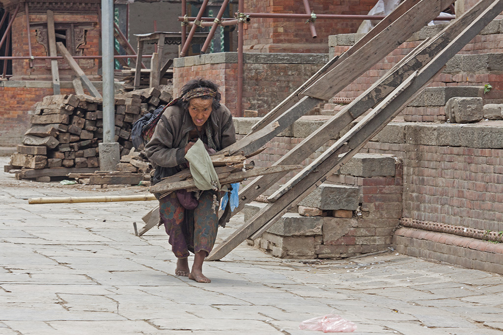 Зарисовка в Катманду. Непал