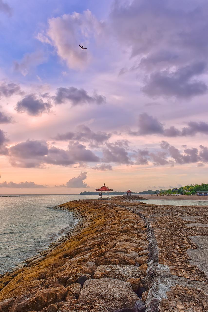 Бали-расссвет.рассвет,морской,пейзаж,путешествия,Бали,