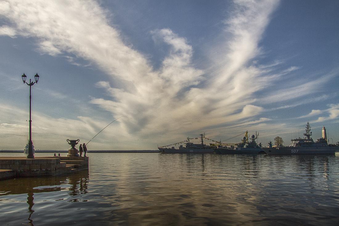 Кронштадт.Петровская гавань.