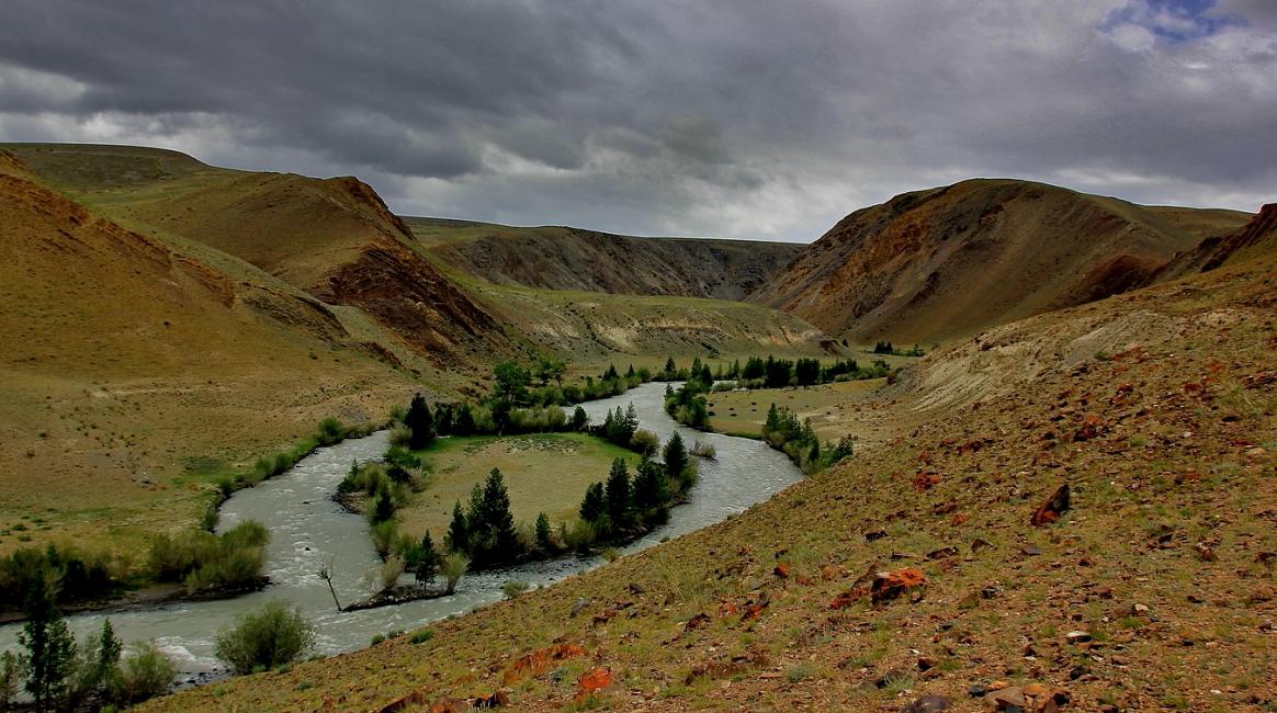 Необычный Алтай.Река Чаган-Узун.