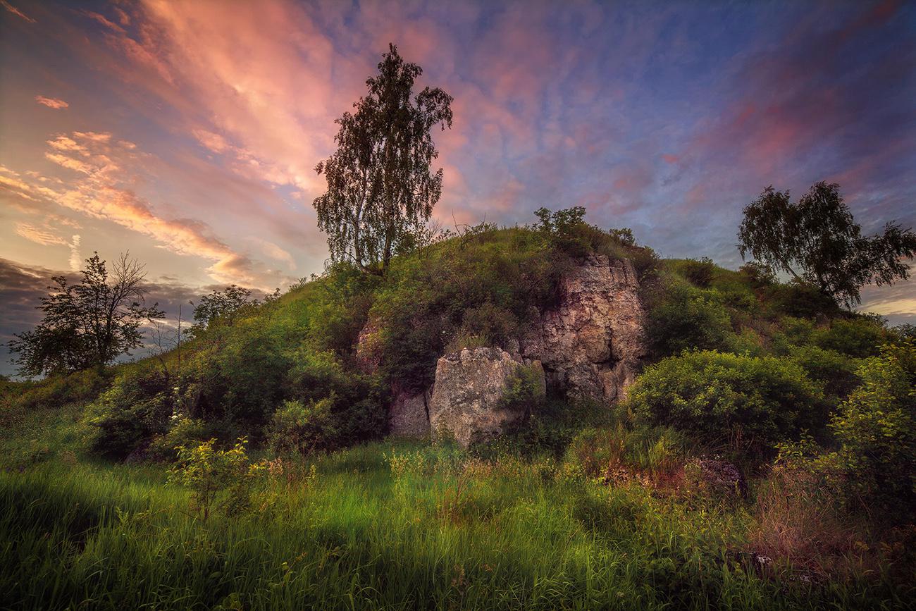 Урочище Каменная гора.