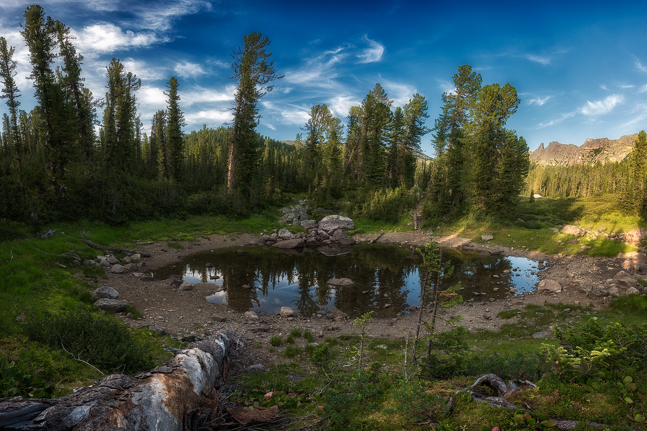 Заповедник Ергаки.пейзаж, озеро,сибирь,путешествие,Ергаки,отражение,