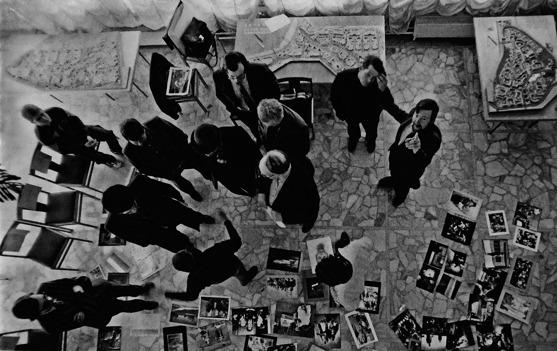 Выставочное пространство, отбор работ, Липецк, 1986