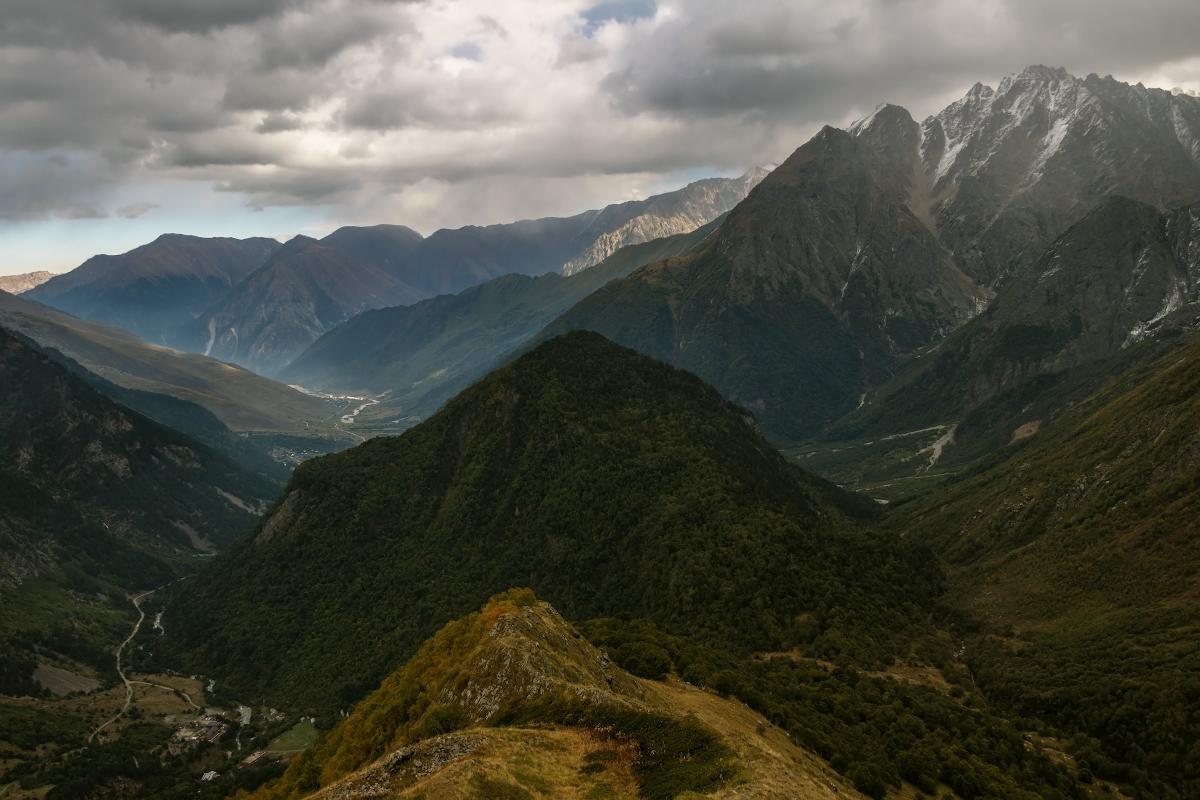 Северная Осетия, Дигорское ущелье, Кавказ...