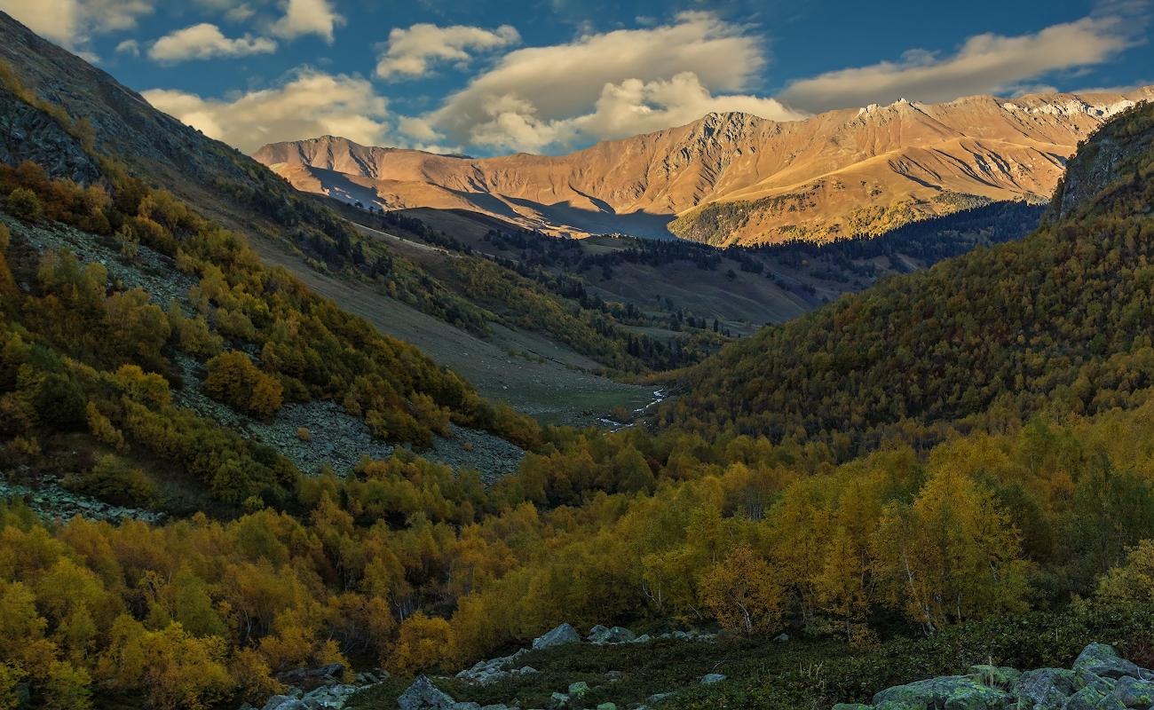 Дукинское ущелье, Карачаево-Черкессия, Кавказ...