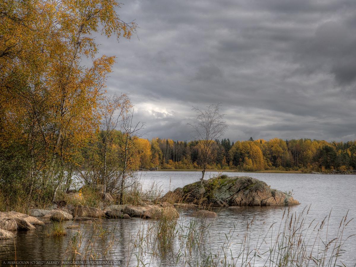 ладога, карелия, шхеры, октябрь
