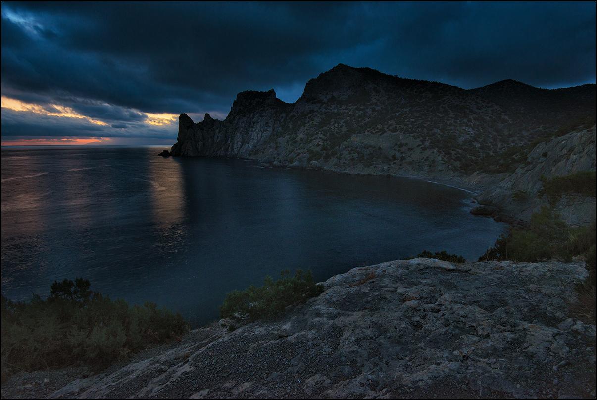 Крым, Новый свет, вечер
