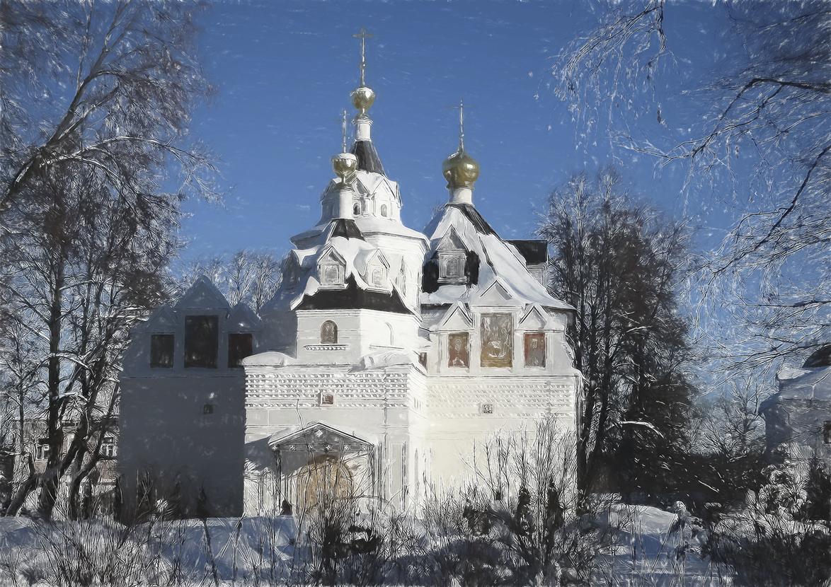 Троицкий Стефано-Махрицкий монастырь g.Карабаново ( Махра)