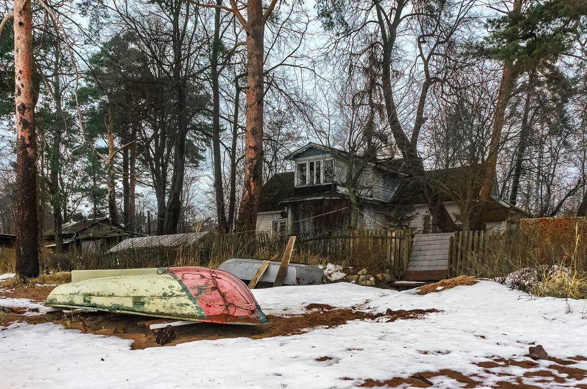 Будни января 2018... Финский залив, п.Репино