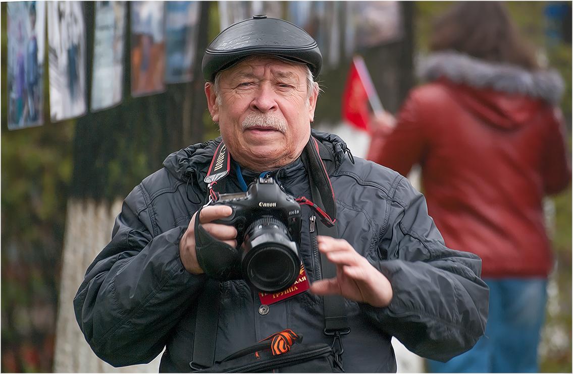 Фотограф на сушке