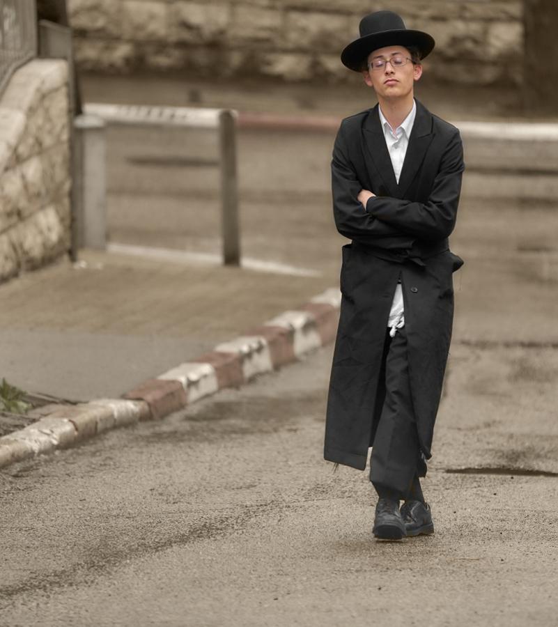 Мимолётные наблюдения в религиозном еврейском квартале...