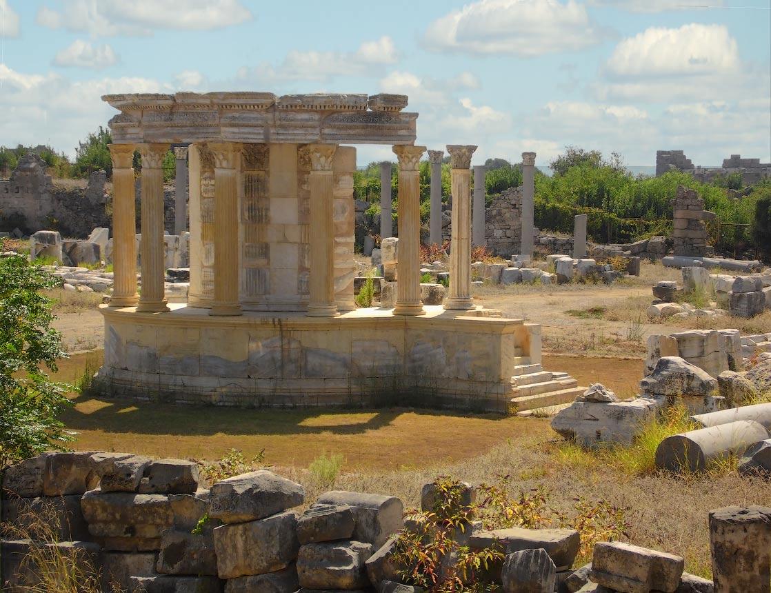 Руины Византии в Турциируины