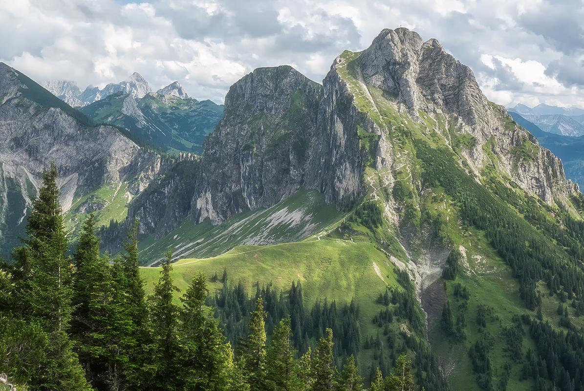 Бавария. Альпы.