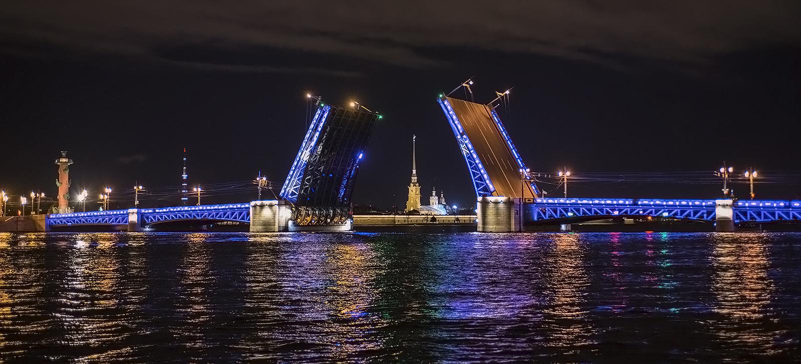 дворцовый мост питер