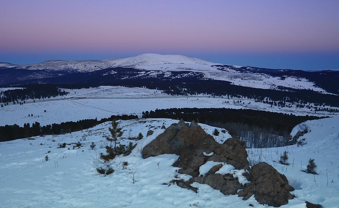 Алтай-17. Семинский перевал.Высшая точка хребта-г.Сарлык.2507м.