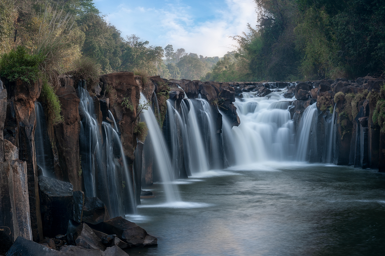 Плато Болавен Лаоспейзаж,плато,болавен,лаос,водопад,