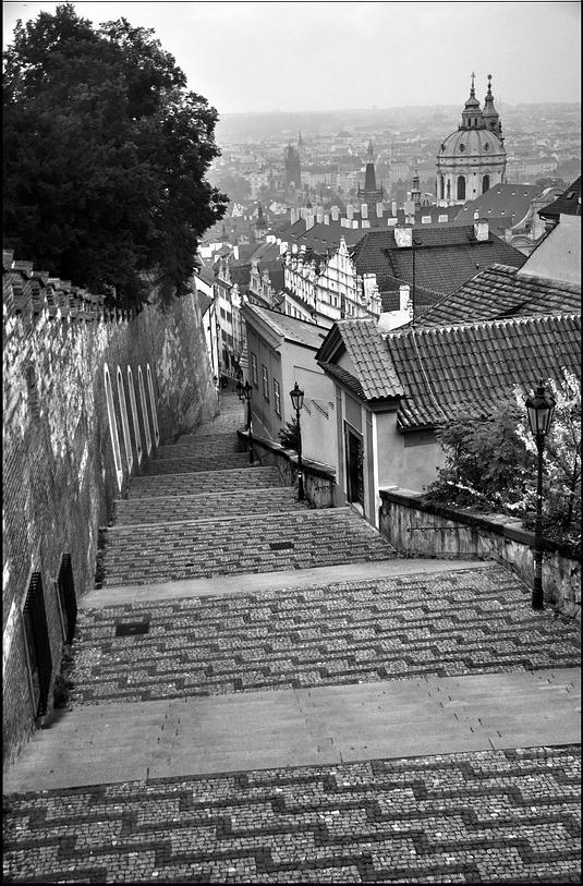 Mесто фотографирования, Замковая лестница-Прага-1