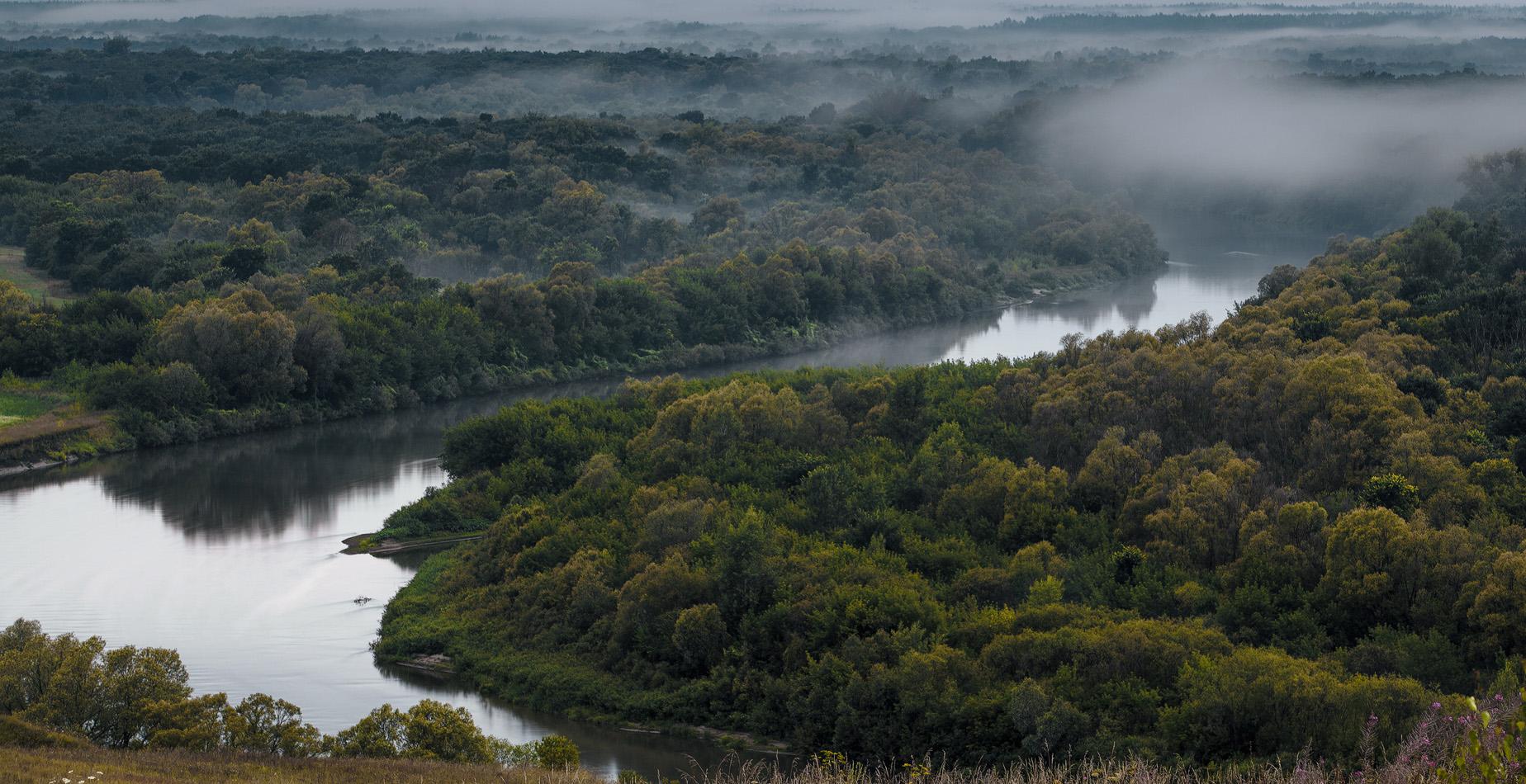 Река Сура.