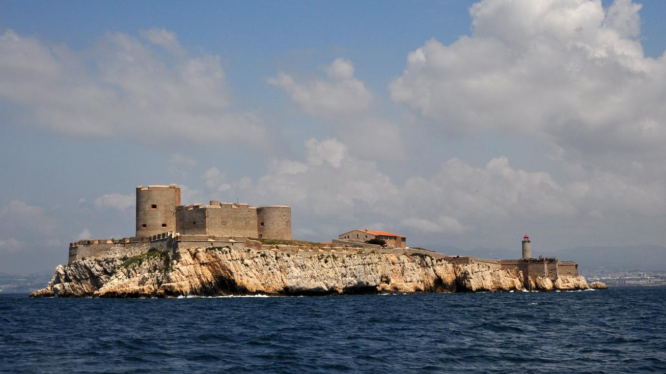 Chateau d'If, Замок ИФ, граф Монте Кристо, фортификация, тюрьма