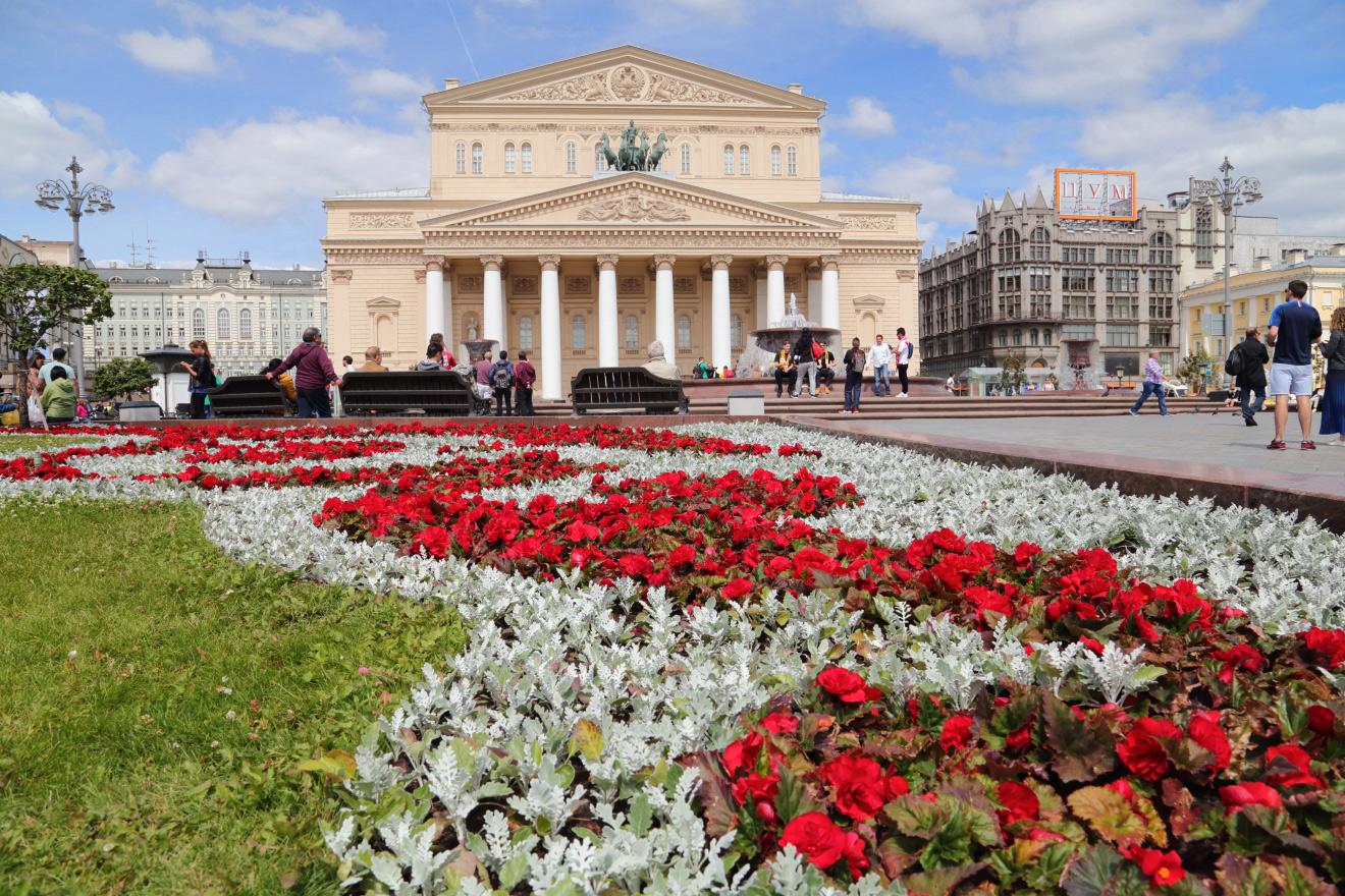 Москва, Театральная площадь.