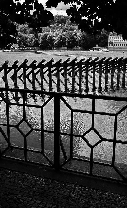 Mесто фотографирования, набережная Сметаны -Cтарый Город-Прага-1