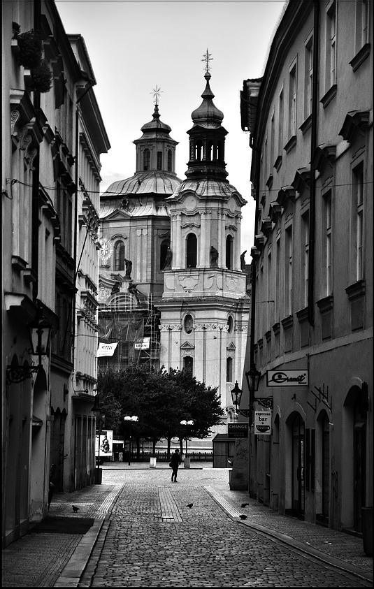 Mесто фотографирования, улица Железная-Cтарый Город-Прага-1
