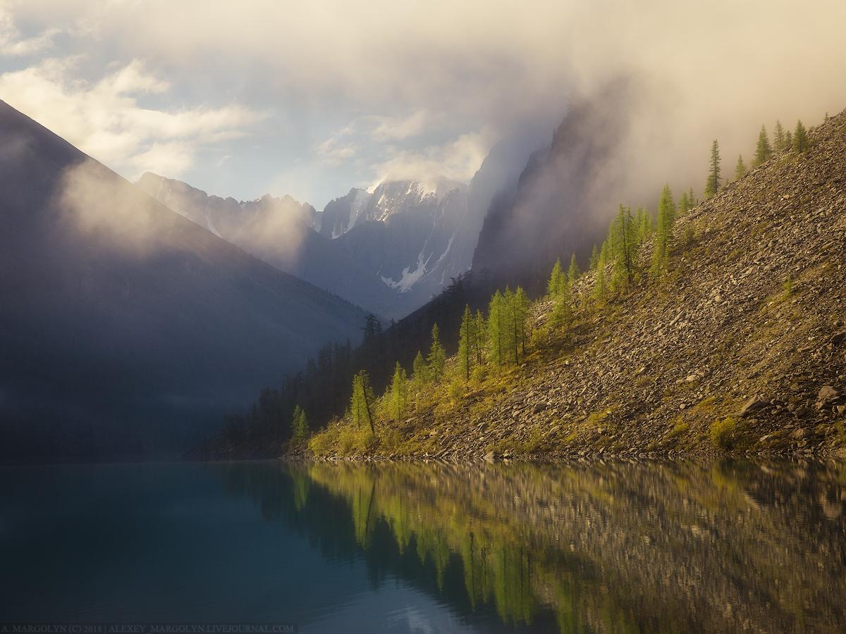 Шавлинское озеро, Алтай.