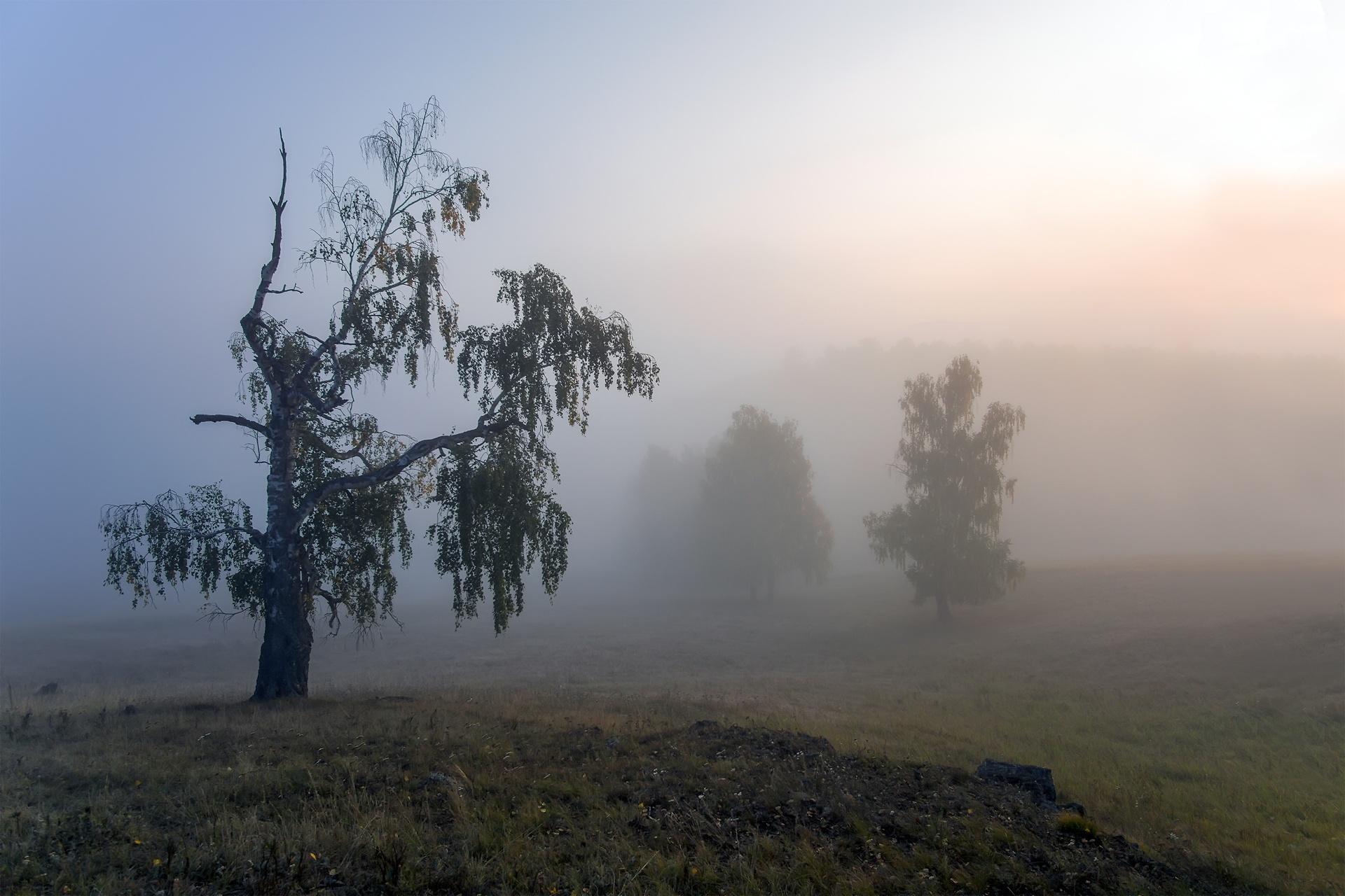 Южный Урал, раннее утро