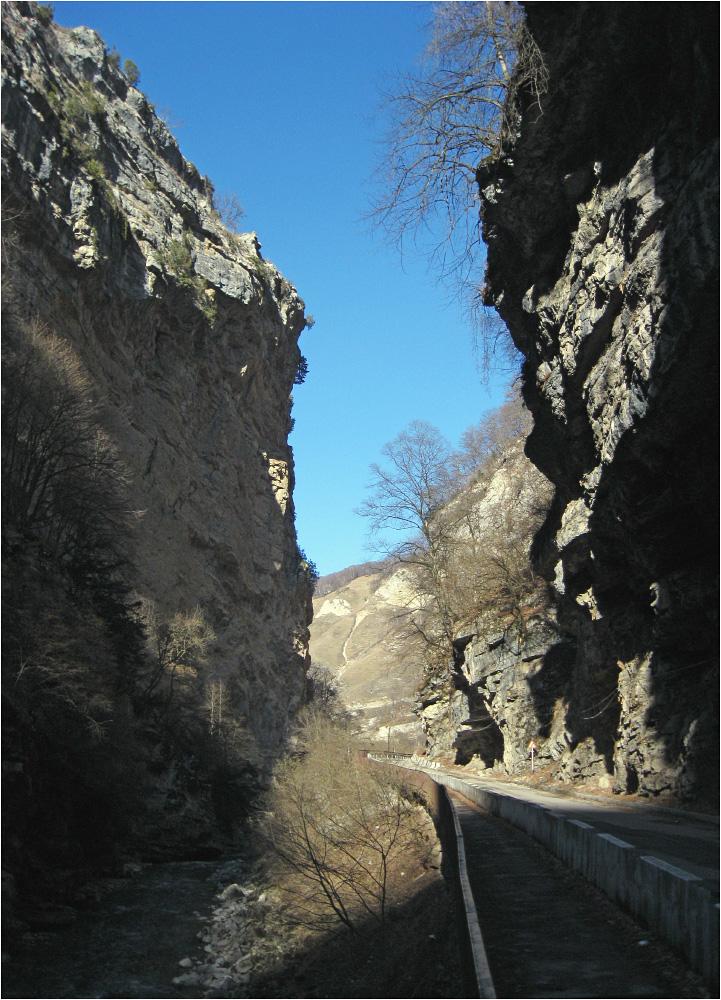 Чегемское ущелье, Кабардино-Балкария...